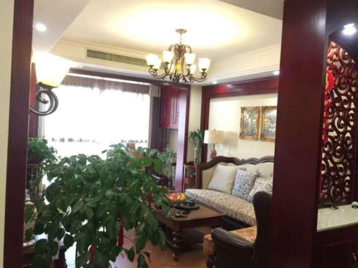 原房东豪装三居室,美式装修,拎包即住