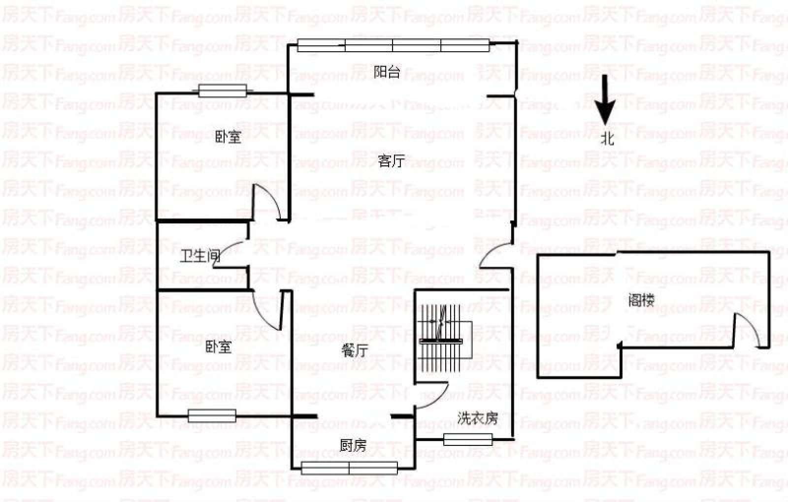 阳光锦城 3室2厅86.32㎡