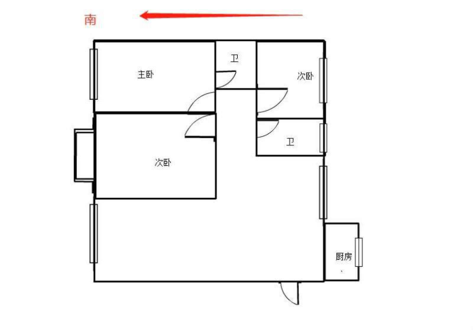 观澜盛世 3室2厅141.24㎡