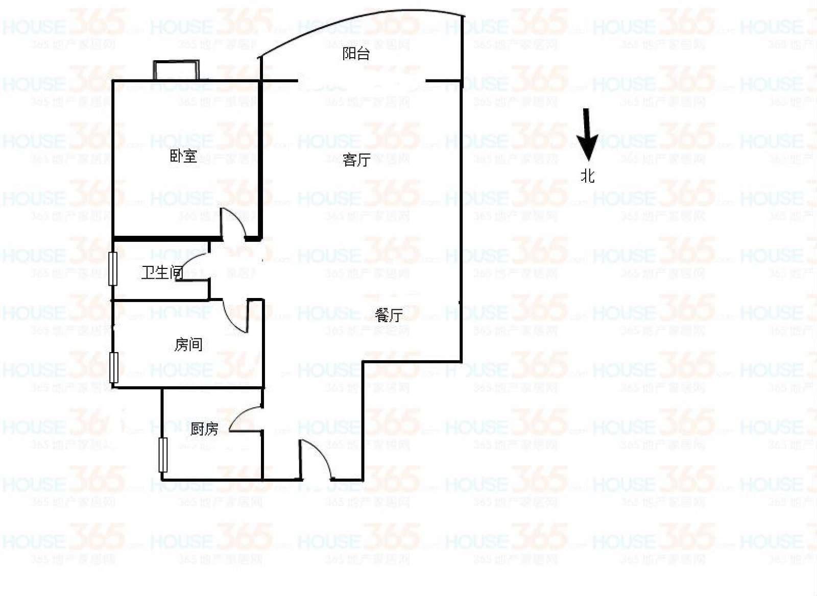 德晟豪庭 2室2厅93㎡