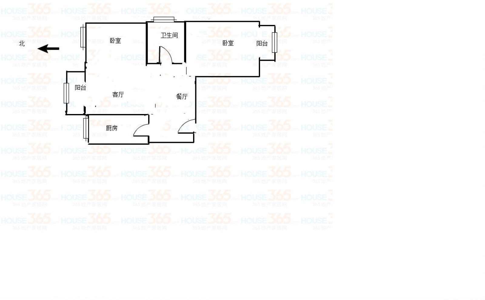 时代尊品 2室2厅91.37㎡