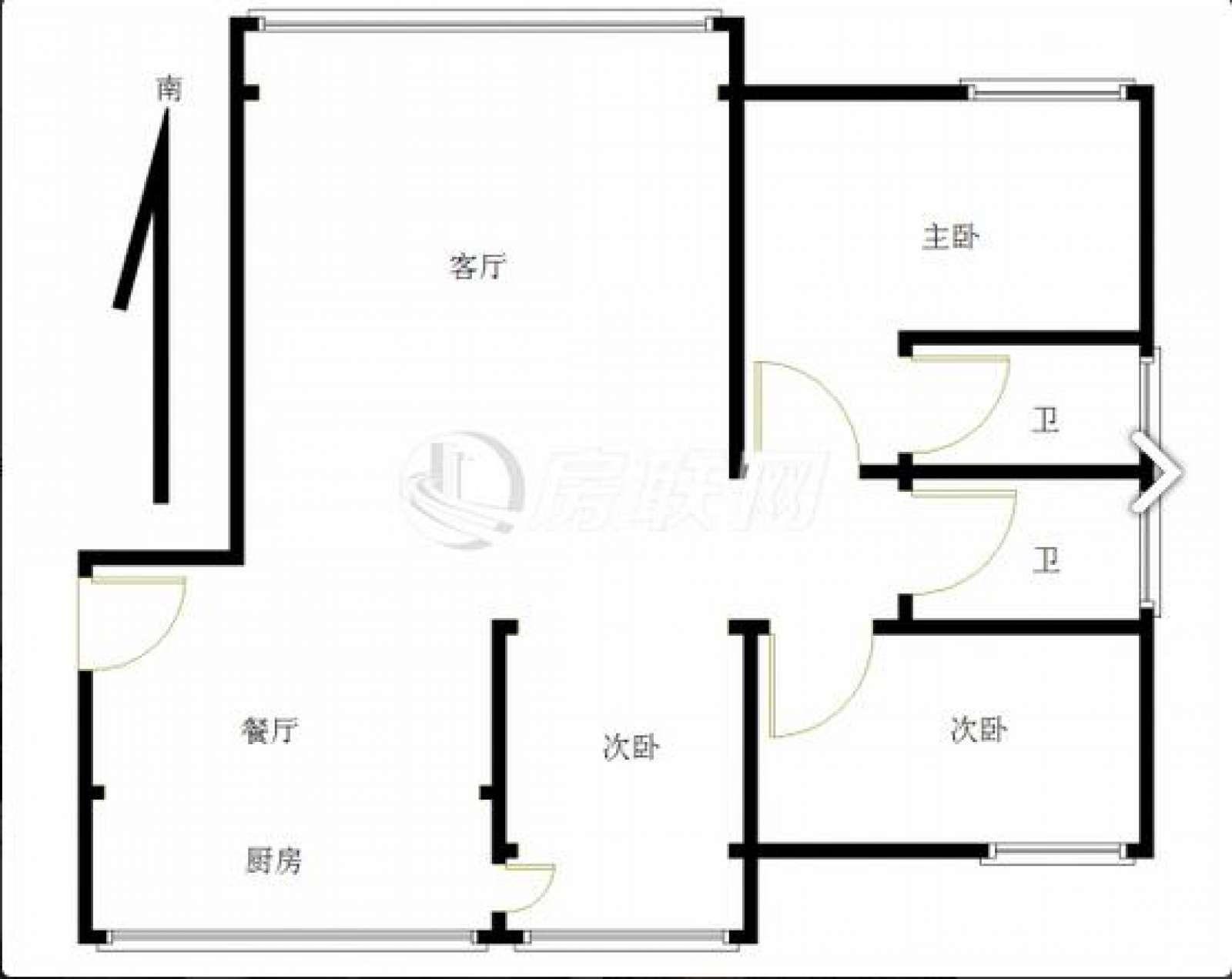 大润发 3室2厅120㎡