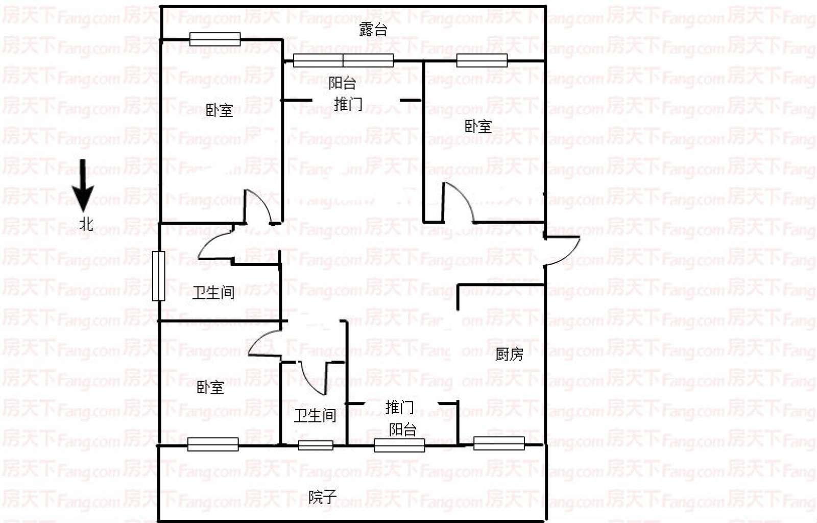 阳光福邸 3室2厅135.46㎡