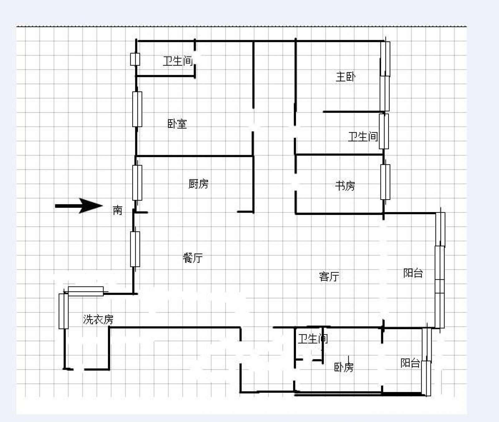 观澜盛世 5室2厅231㎡