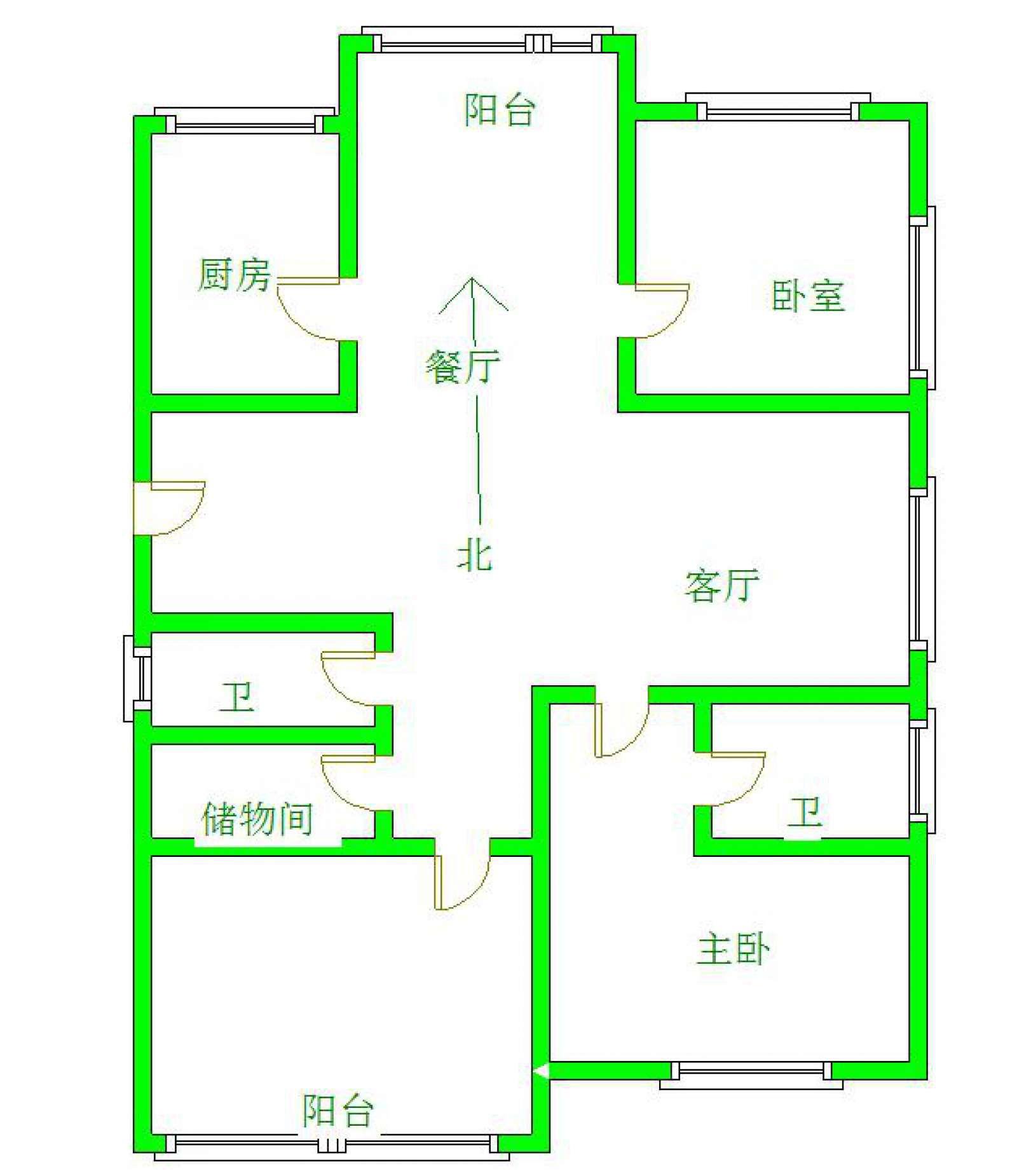 御江一品 3室2厅109㎡