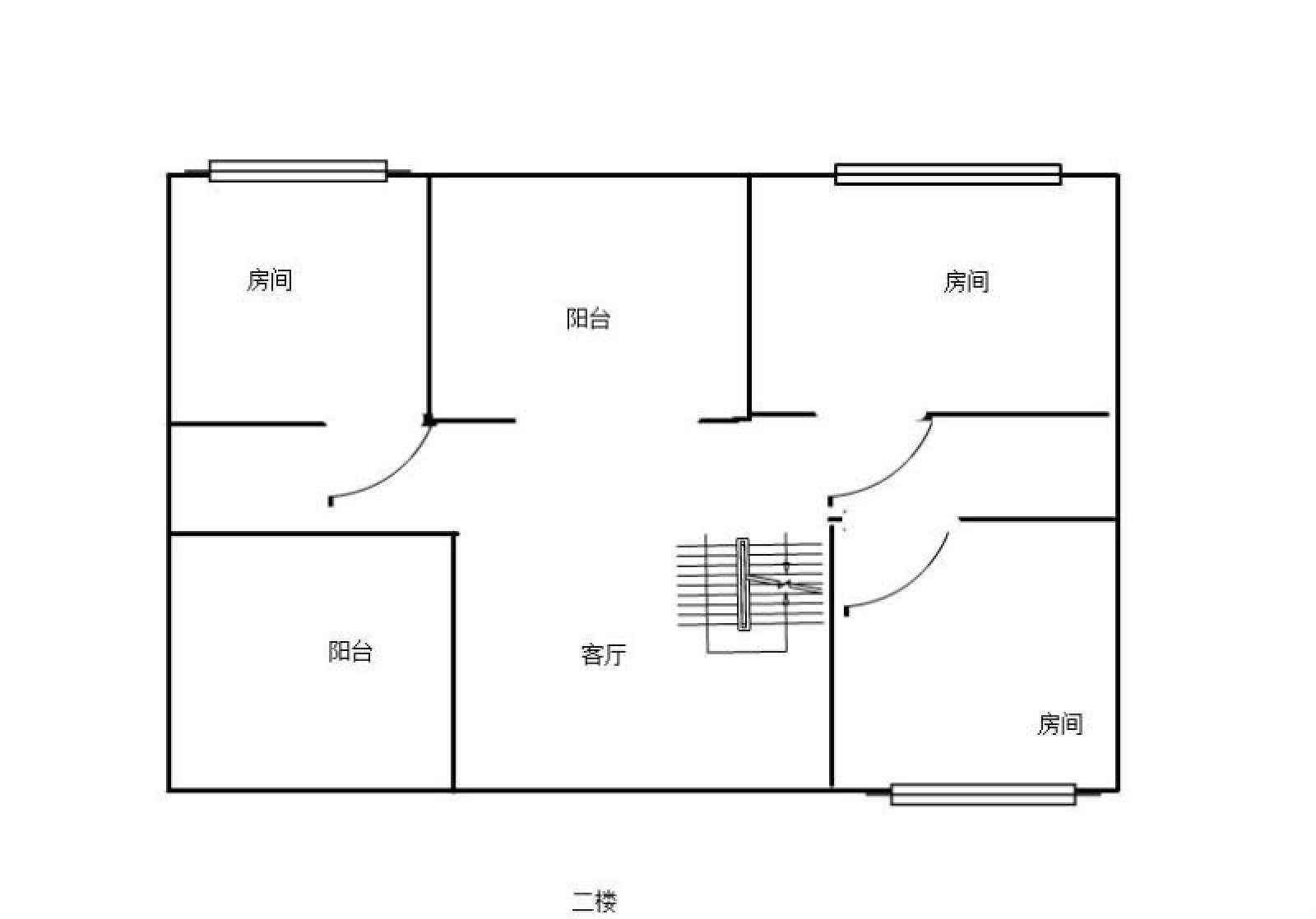 庐峰小区北区 6室2厅187.66㎡
