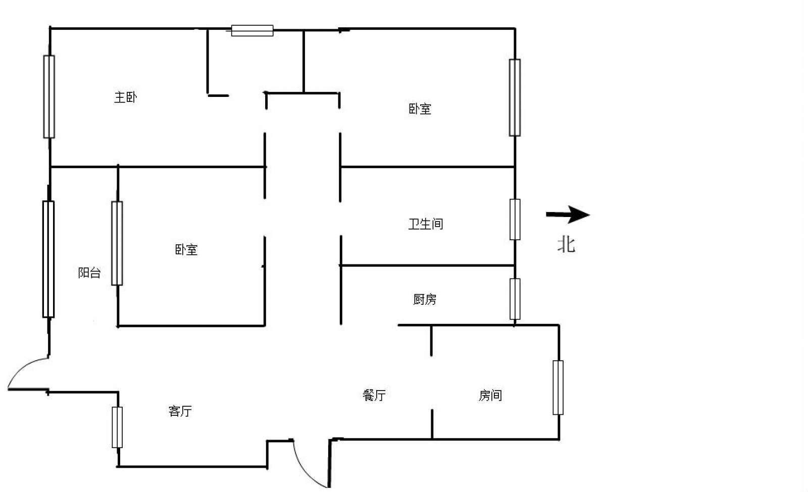 庐山春天 4室2厅120㎡