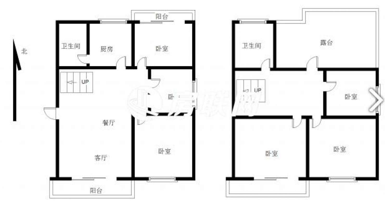 慧龙新城 6室2厅170㎡