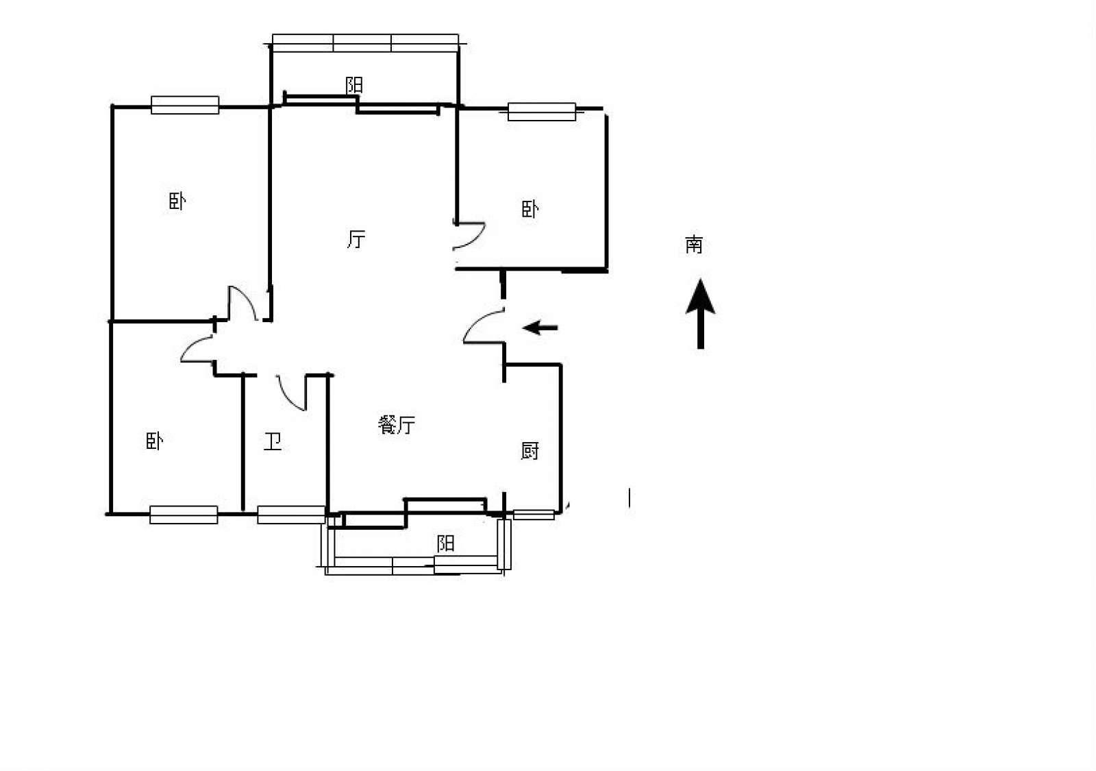 极地盛世名都 3室2厅96㎡