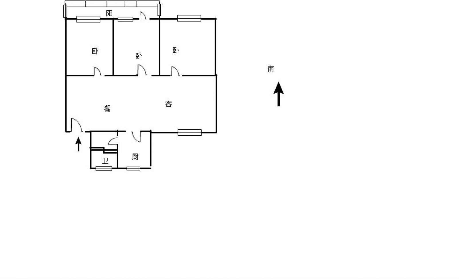 湖滨小区东区 3室2厅103.13㎡