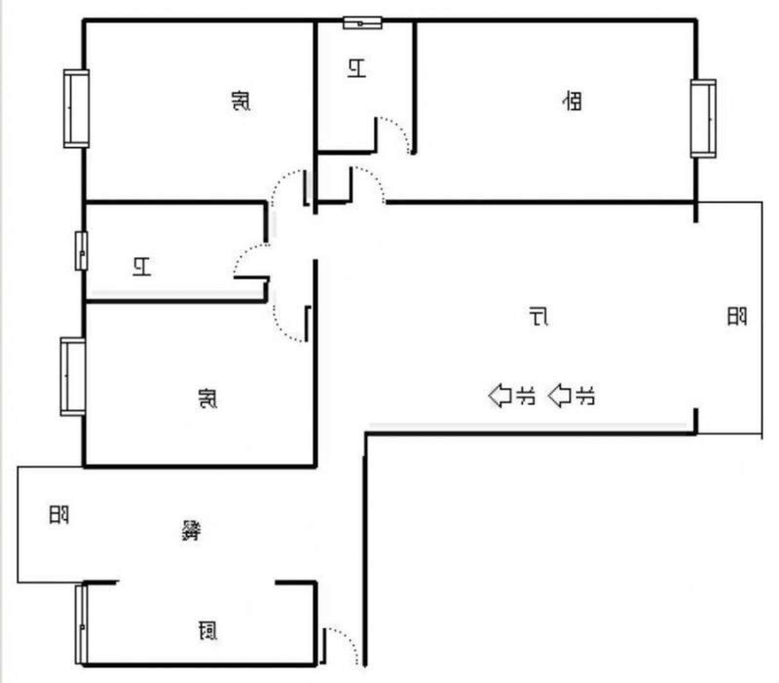 联盛快乐城 3室2厅115㎡