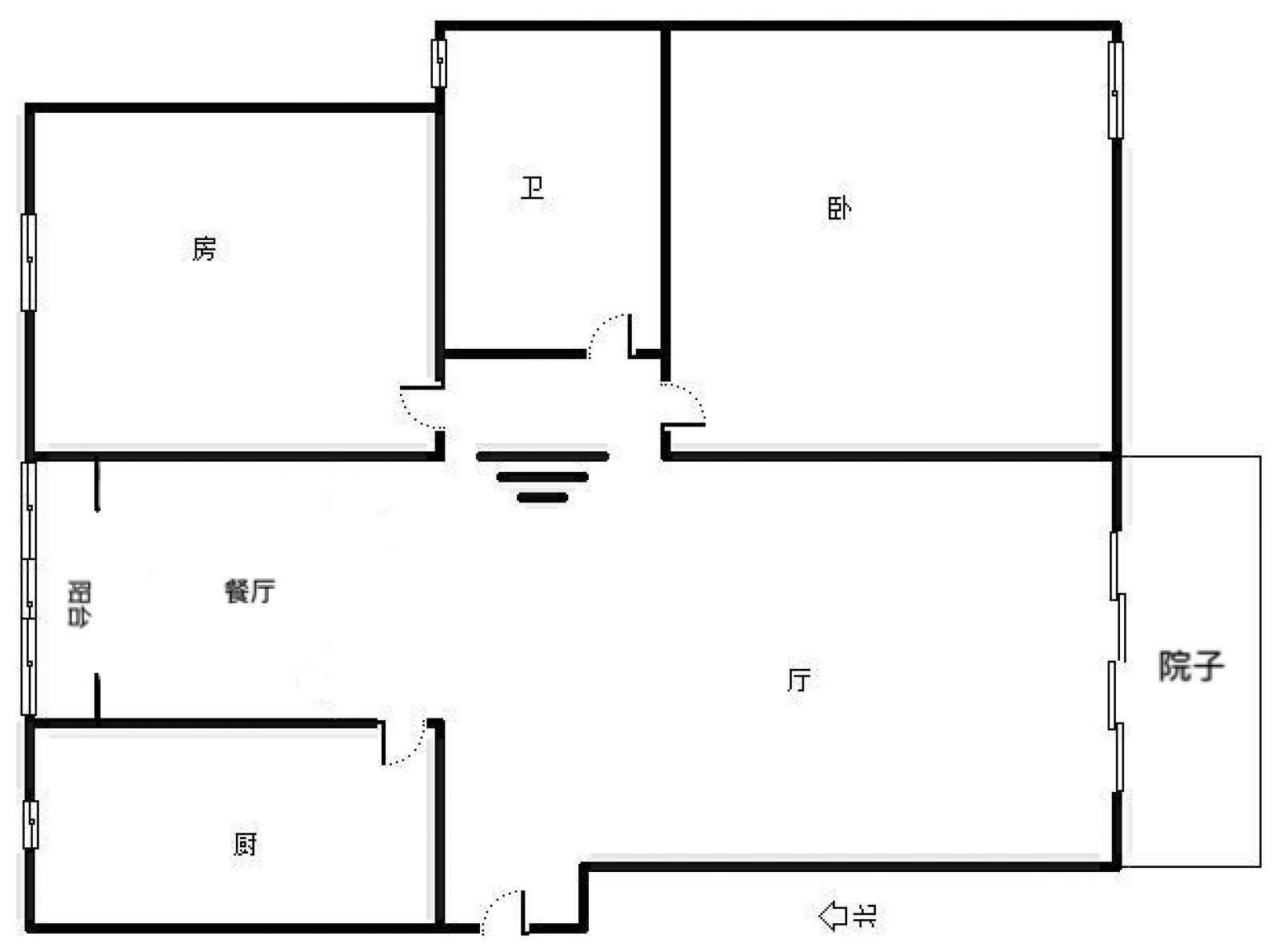 柴桑春天二区 2室2厅101㎡