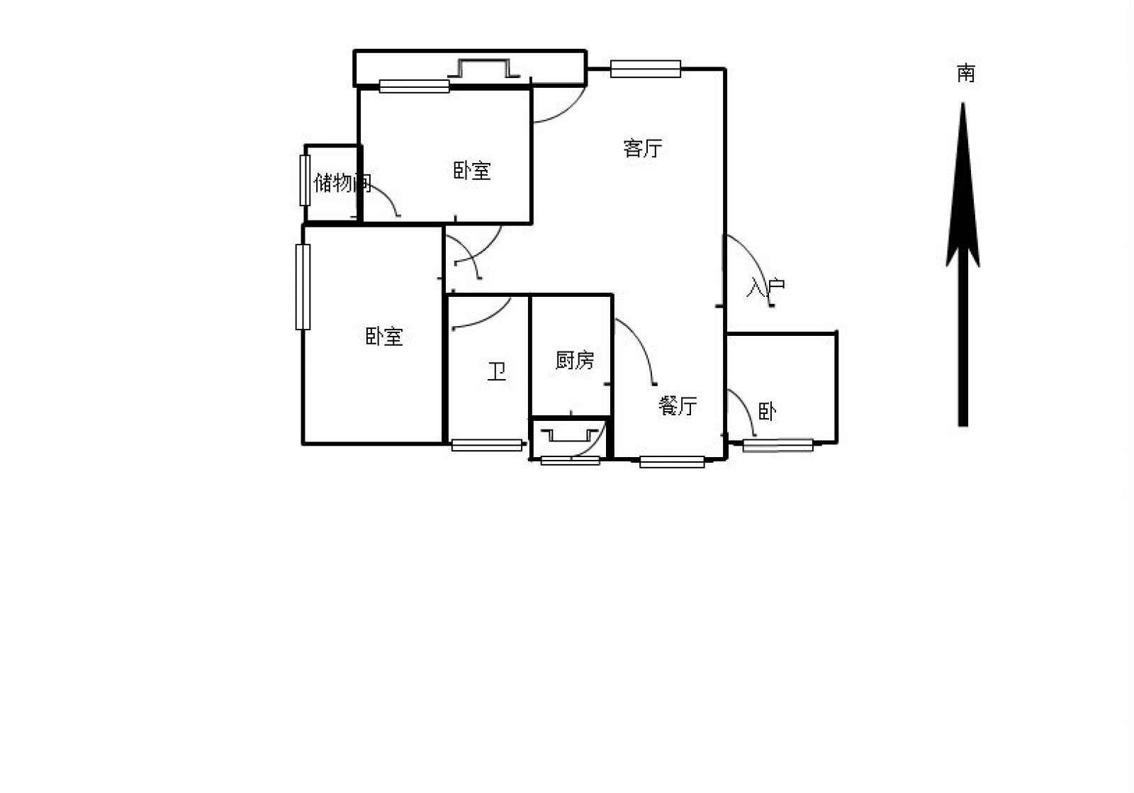 柴桑春天三区 3室2厅96㎡